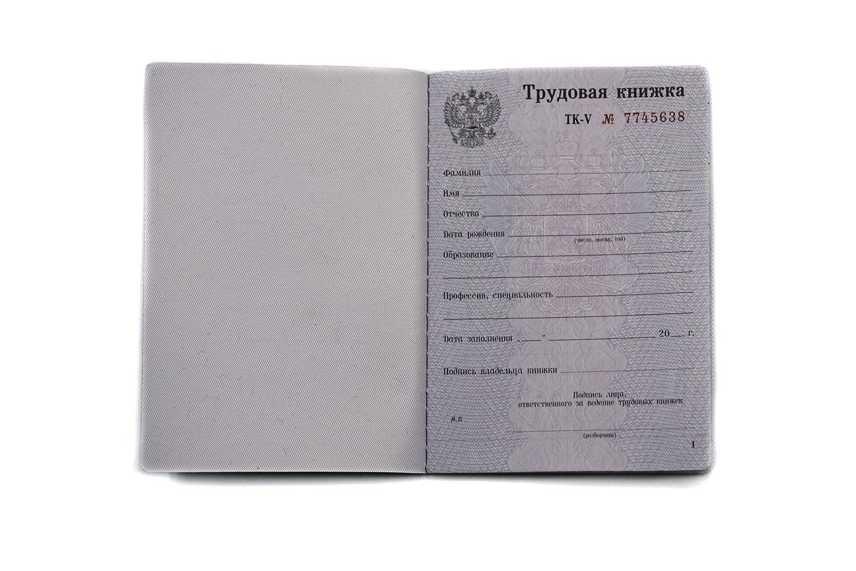 два фото пустых трудовых книжек бурундук нашел