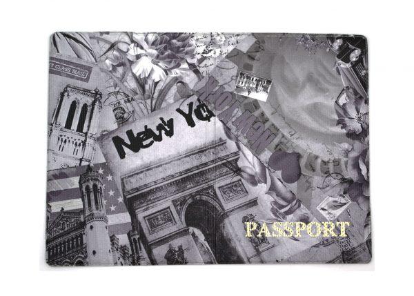 Обложка на паспорт с ярким рисунком